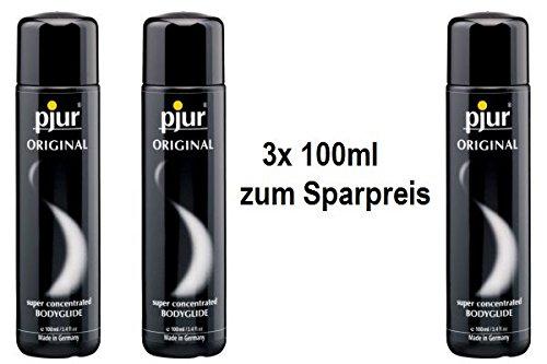 pjur Original 3x 100ml Dreifach-Sparpaket