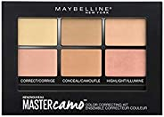 Maybelline New York Master Camo Concealer Palette, Medium, 5.5g
