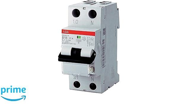 ABB/ /Interrupteur diff/érentiel Salvateur DS201/B16/A