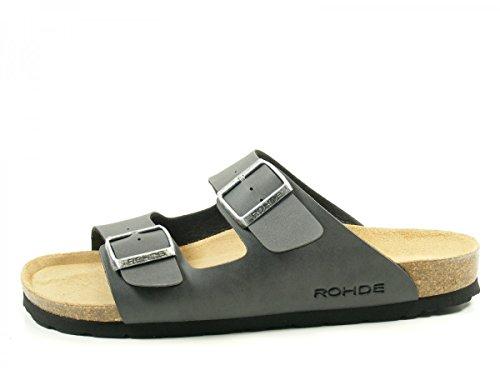 Preto Mulas Rohde Homens Cinza 5920 Sandálias wCx7X6qv
