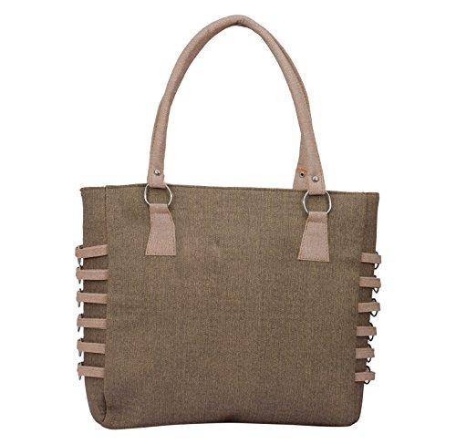 Alice Designer khadi style ladies handbag Gray(NKS-510-GUN)  available at amazon for Rs.399
