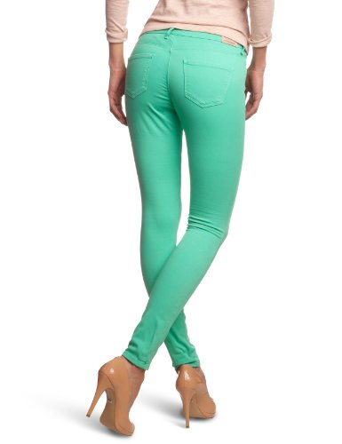 Cross Jeans Damen Jeans P 490-503 / Alicia Skinny / Slim Fit (Rhre) Hoher Bund Grün (Spearmint)