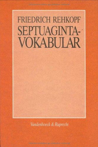Septuaginta - Vokabular Alt Englisch-wörterbuch