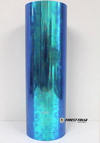 Preisvergleich Produktbild RLS81 Chamäleon Skyblue Scheinwerfer Folie Tönungsfolie 30x100cm Rückleuchten