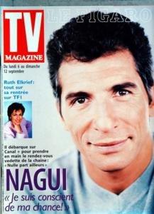 FIGARO TV MAGAZINE (LE) N? 17126 du 04-09-1999 nagui, je suis conscient de ma chance ruth elkrief, tout sur sa rentree sur tf