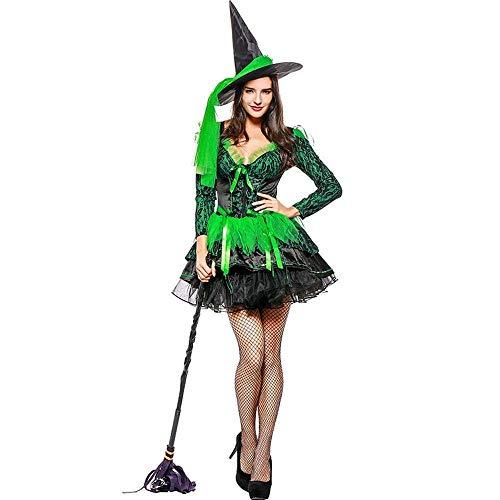 Zauberer Kostüm Weibliche - Fashion-Cos1 Zauberer Kostüm Weibliche Sexy Hexe Kostüm Sexy Phantasie Performances Kleid Sexy Halloween Party Kleid