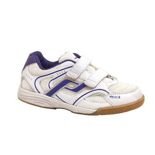 PRO TOUCH Indoor-Schuh Courtplayer Klett Jr. für Kinder White/Purple