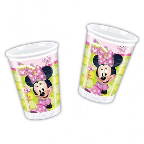 Unique Minnie Maus Lernspiel Kunststoff Cup-24Stück (Minnie Mouse-kunststoff-cups)