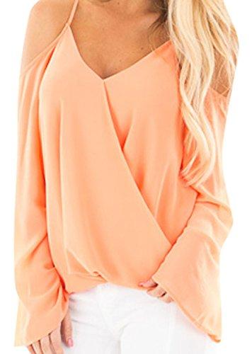 Elsa Steen - Camicia - Maniche lunghe  -  donna Arancione