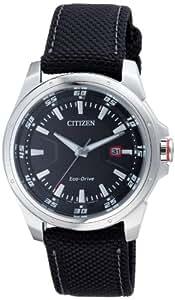 Citizen - BM6740-10E - Montre Homme Eco Drive - Quartz Analogique - Bracelet en Tissu