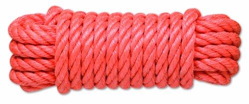 Chapuis PC10 Gedrehtes Polypropylen-Seil - 3 T - Durchmesser 14 mm - Länge 15 m - Koralle