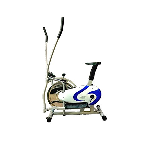 Orbitrack Elliptical Steel Wheel by Leeway| Orbitrac Dual Action Trainer with Seat Orbitrek| Cardio Workout Aerobic Training Machine| indoor Gym Bike| Cross Fitness Exercise Cycle| orbitrack cycle  available at amazon for Rs.13789