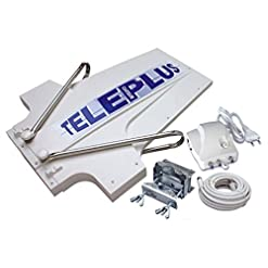 Antenna TV digitale analogico 36dB roulotte camper Teleplus TELECO 15558