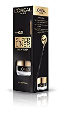 LOreal Paris Super Liner Gel Intenza 36H, Profound Black, 2.8g