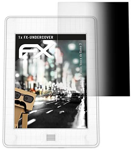 atFolix Blickschutzfilter für Onyx Boox Vasco da Gama 3 Blickschutzfolie, 4-Wege Sichtschutz FX Schutzfolie
