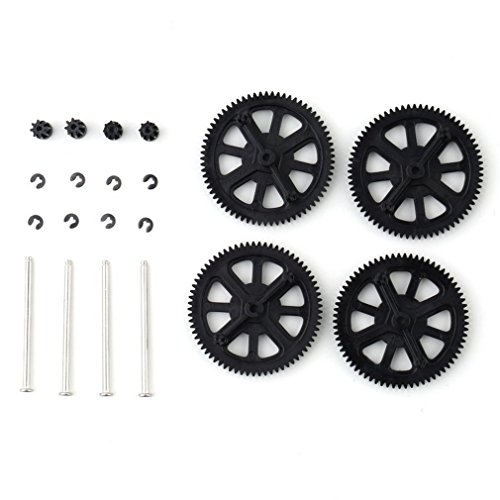 Trifycore aggiornato durevole motore pignone, per Parrot AR Drone 1.0/2.0 Gears & Shaft replacement, Model Tool Parts
