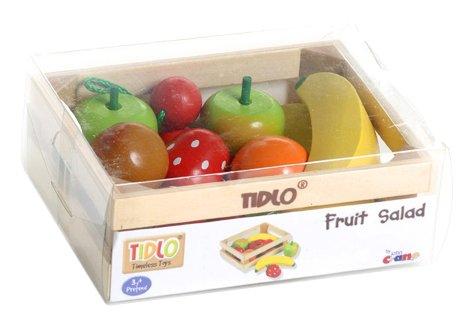 Tidlo Wooden Fruit Salad - Play Food Set