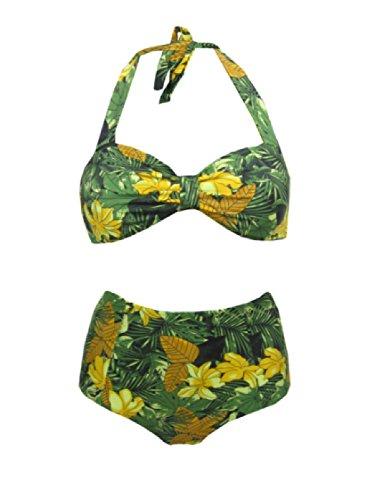urban-outfitters-maillot-de-bain-deux-pieces-femme-green-tropical-m