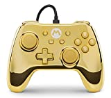 Wired Controller for Nintendo Switch - Gold Mario