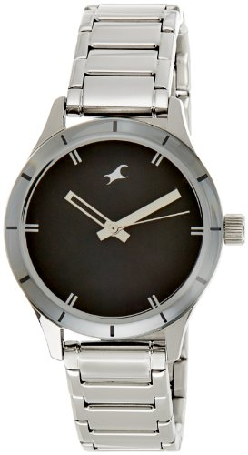 Fastrack Monochrome Analog Black Dial Women's Watch - 6078SM06 image