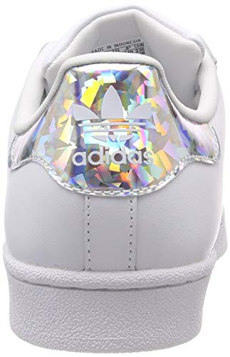 best authentic 49d6c a96bf adidas Superstar J Scarpe da ginnastica Unisex bambini, Bianco (Ftwr  White Ftwr White Ftwr White Ftwr White Ftwr White Ftwr White), 38 EU