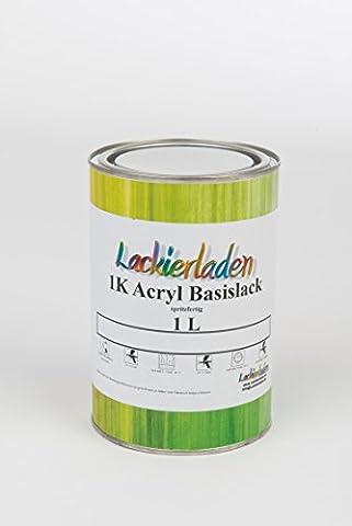 Autolack Basislack 1 Liter Acryl spritzfertig 49B SLATE