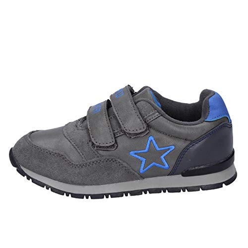Enrico Coveri Sneakers Baby Jungen Wildleder grau 29 EU