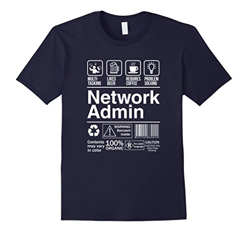 network-admin-shopping-label-problem-solver-t-shirt-herren-grosse-xl-navy