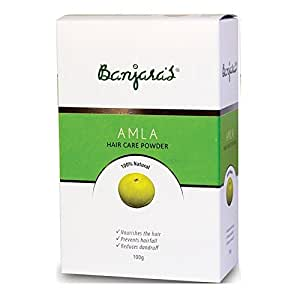 Banjara's Amla Hair Care Powder 100g (8.9060505901e+012) - Set of 3
