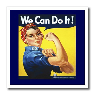 3drose HT _ 39022_ 2Vintage WW II Rosie poster-iron auf Heat Transfer Papier Für weiß Material, 6von 6