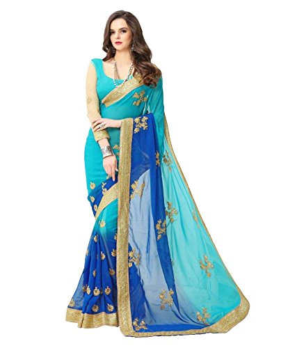 Laxmi Fashion Georgette Saree (Mt-Saree-2161-1-Multi-Coloured_Multi-Coloured)