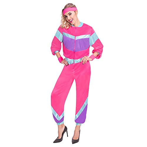 Women's 80s Shell Suit Costume Size 8-10 or 10-12