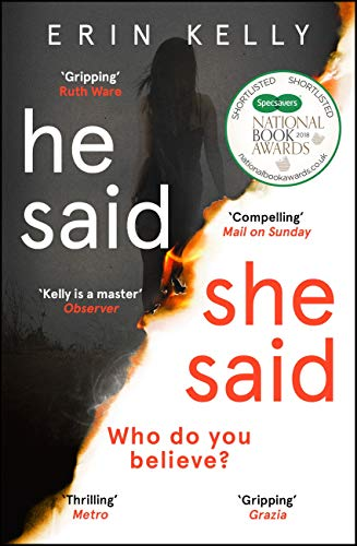 He Said/She Said: the must-read bestselling suspense novel of the year (English Edition) por Erin Kelly