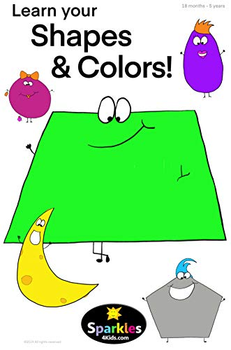 LEARN YOUR SHAPES & COLORS (edu): 18 months - 5 years (English ...