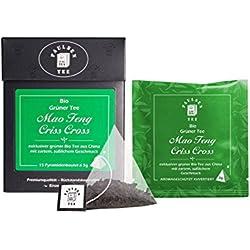 Paulsen Tee Pyramidenbeutel Mao Feng Criss Cross Grüner Tee 15 x 3g - Bio