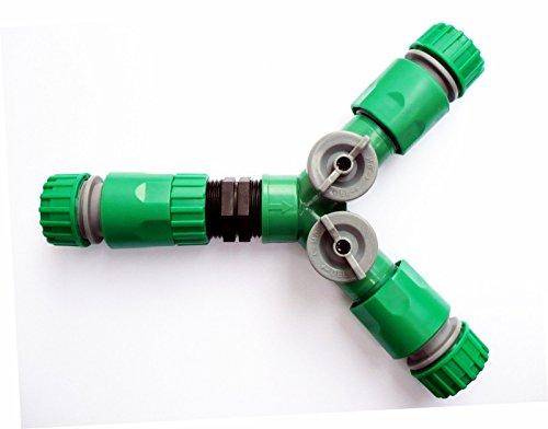 Generic dyhp-a10-code-4263-class-1 -- Tuyau Connecteurs TDR robinets + 3 femelle 3 FEM à clipser pour tuyau 3 voies avec 2 O Répartiteur en ligne se sp avec on/off 2 N 3 Voies - -dyhp-uk10-160819-2290