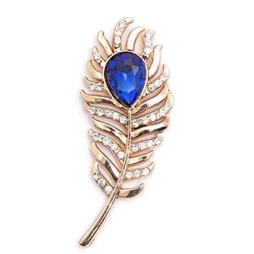 Vibhavari Men's Brooch / Lapel Pin (Golden)