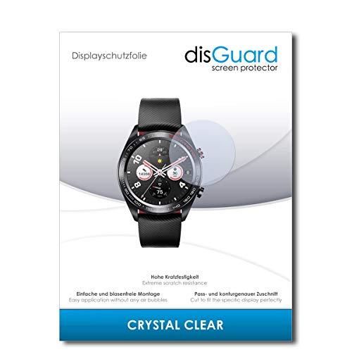 disGuard® Bildschirmschutzfolie [Crystal Clear] kompatibel mit Huawei Watch Magic [2 Stück] Kristallklar, Transparent, Unsichtbar, Extrem Kratzfest, Anti-Fingerabdruck - Panzerglas Folie, Schutzfolie
