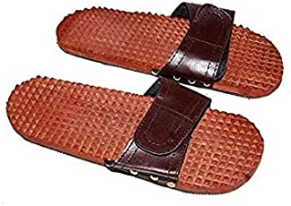 Aafiya Handicrafts Wooden Slipper Massager body stress massager fitness