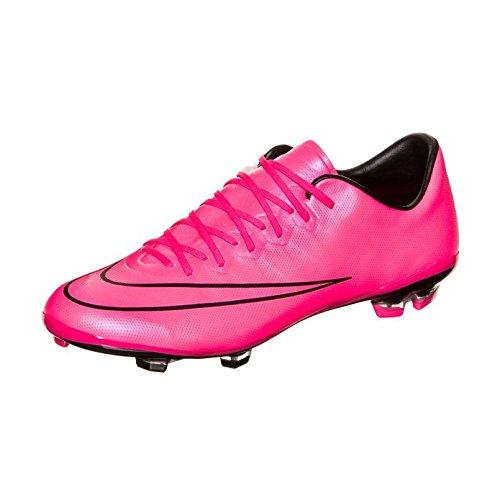 Nike - Chaussures JR Mercurial Vapor X, de football - 651620-660 Noir et rose