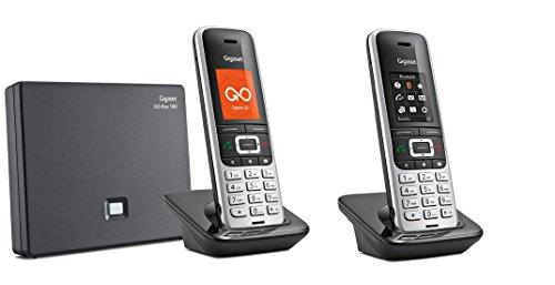 Gigaset S850A GO DUO Set mit Anrufbeantworter + weiterem Mobilteil, analog / VoIP Festnetz DECT Telefon