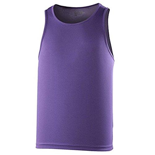 AWDis Cool Vest Herren Lauftop * Farbe: verschiedene Farben * Gr. S-XXL Purple