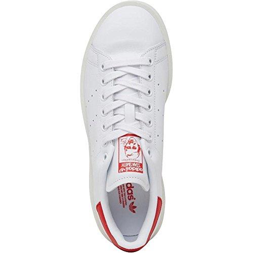 adidas Stan Smith Bold W White White Red running white-running white-collegiate red