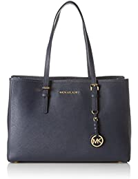 Michael Kors Jet Set Travel Saffiano Leather Tote, Borsa a Spalla Donna
