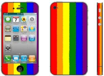 Apple iPhone 4/4s Skin – Model Color