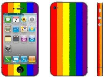 Apple iPhone 4/4s Skin–Model Color