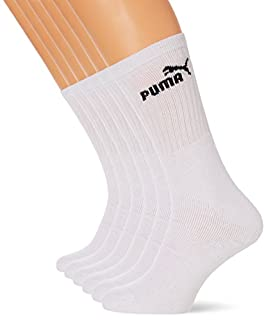 Puma - Chaussettes de Sport - Lot de 6 - Homme - Blanc (White) - 43-46 EU (B0058PHTVA) | Amazon price tracker / tracking, Amazon price history charts, Amazon price watches, Amazon price drop alerts