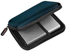 "mumbi Sac à disque dur externe jusqu'à 6,35cm (2,5""), bleu"