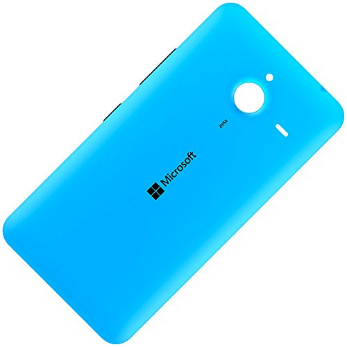 Microsoft Lumia 640 XL LTE & 640 XL LTE Dual Sim Original Akkudeckel Cyan Batterie Back-Cover Akkufachdeckel