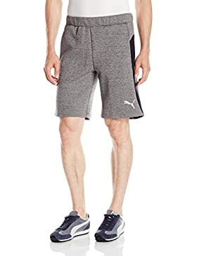 Men's Tilted Formstripe Short, Quarry / Puma Black, Medium
